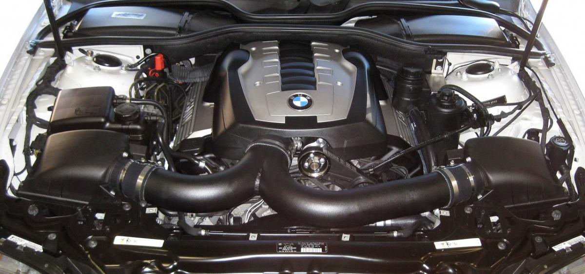 Finally a supercharger in the works for the e65/66, 745 and