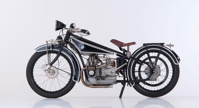 Nine decdes of BMW Motorrad