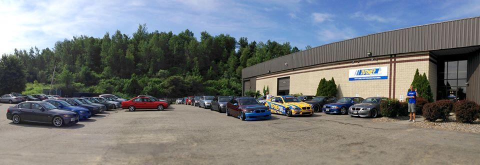 Turner Motorsport Caravan