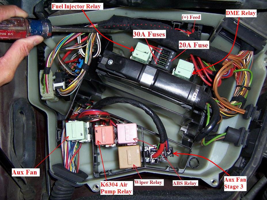 Need help with location of the fuse boxs and overview of fuse positions for  528i? | Bimmerfest BMWBimmerfest