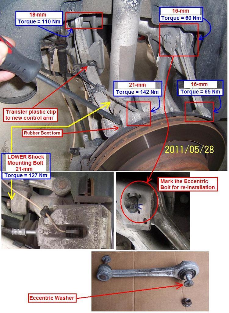 Diy 1998 Bmw 528i Complete Rear Suspension Overhaul