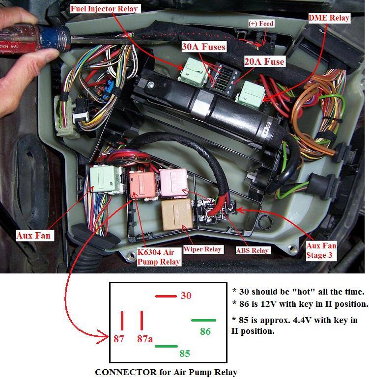 2002 x5 bmw fuse locations
