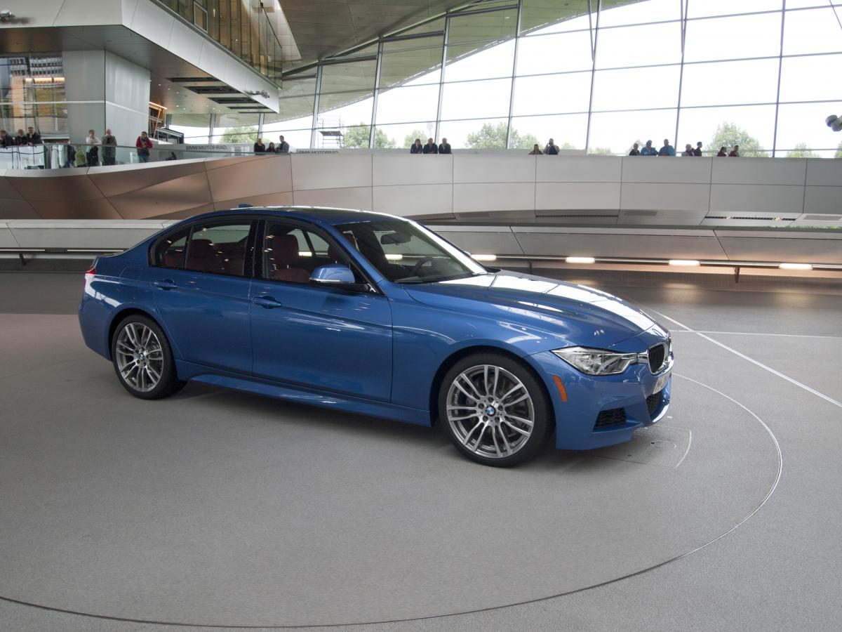 BMW F30 3 series Estoril Blue