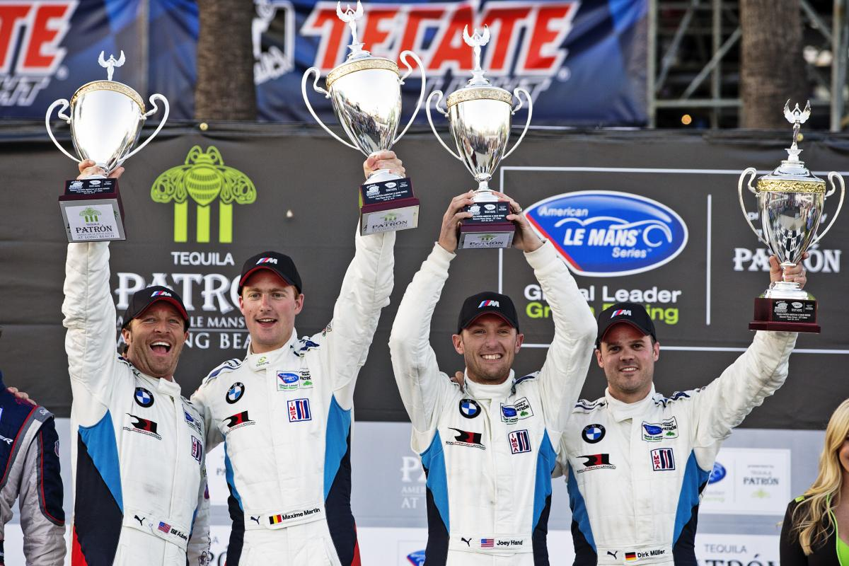 BMW Team RLL Wins Long Beach ALMS 2013
