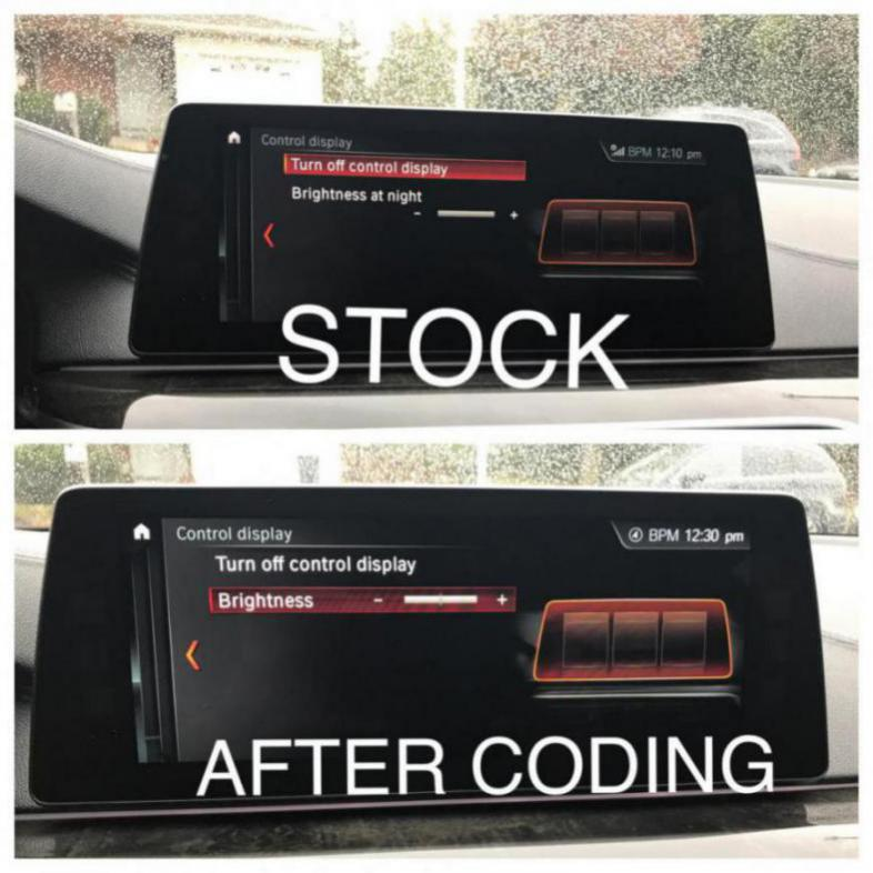 SOLVED VIA CODING: iDrive screen too dim in daytime - Page 2