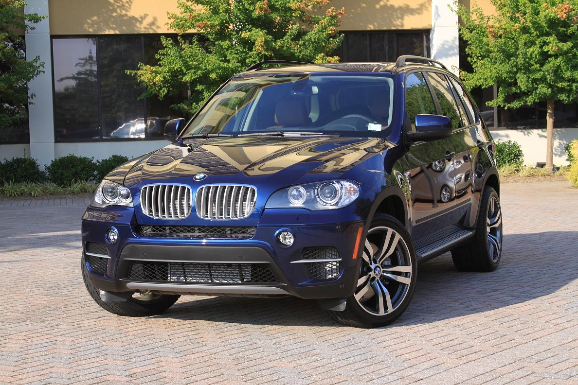 2011 X5 Diesel Deep Sea Blue With Style 300 Rims