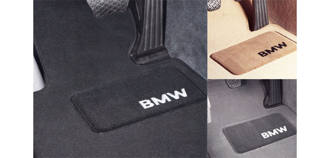 Floor mats standard equipment for all 2012 BMWs