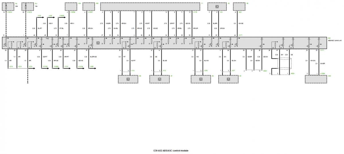 Bimmerfest BMW Forums Picture amperage description of – Dme 540i Fuse Diagram