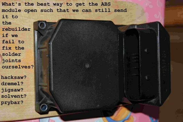 Abs Module Repair Info For E39 From Volvo Forum