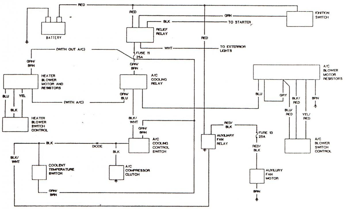 Do you know of a better wiring diagram for the blower motor resistor  operation?