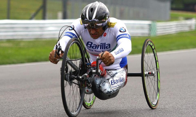 Alessandro Zanardi - Former BMW Racing Driver - Wins Gold in Paralympic Games