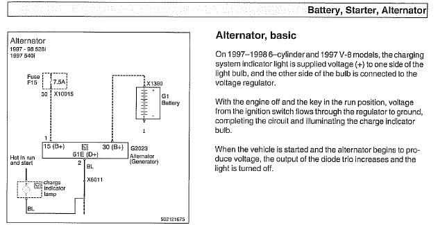 wiring diagram for alternator to battery – the wiring diagram, Wiring diagram
