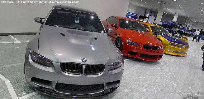 AutoSpies EXCLUSIVE: First Photos of the BMWs at SEMA - One Day Before It Opens!