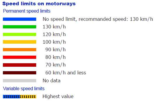 Autobahn Speed Limit Map  Bimmerfest  BMW Forums