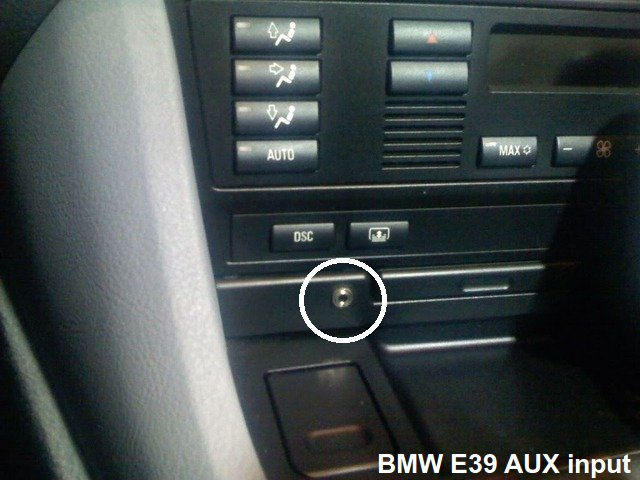 How to Add an Auxiliary Jack? (AUX IN) - Bimmerfest - BMW Forums