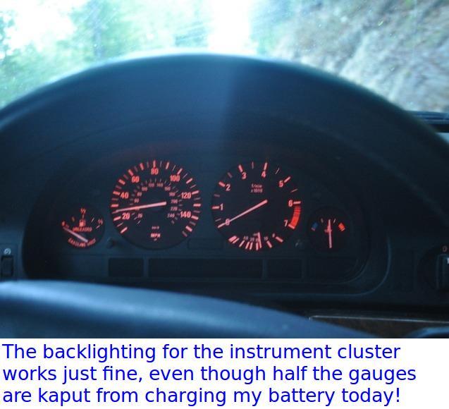 Case study: Low-voltage dead instrument cluster - no