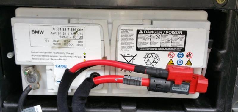 E9X Battery Replacement  Bimmerfest  BMW Forums
