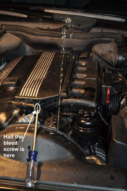 How not to bleed your cooling system (i e , how to break the