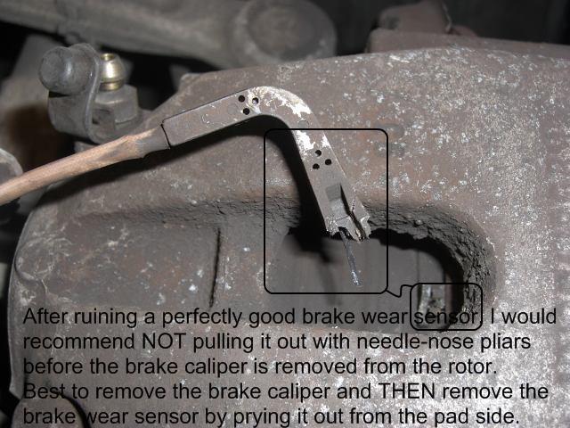 Brake Pad Wear Sensor Front Driver Side for 2010 11 12 13 2014 BMW M5 M6