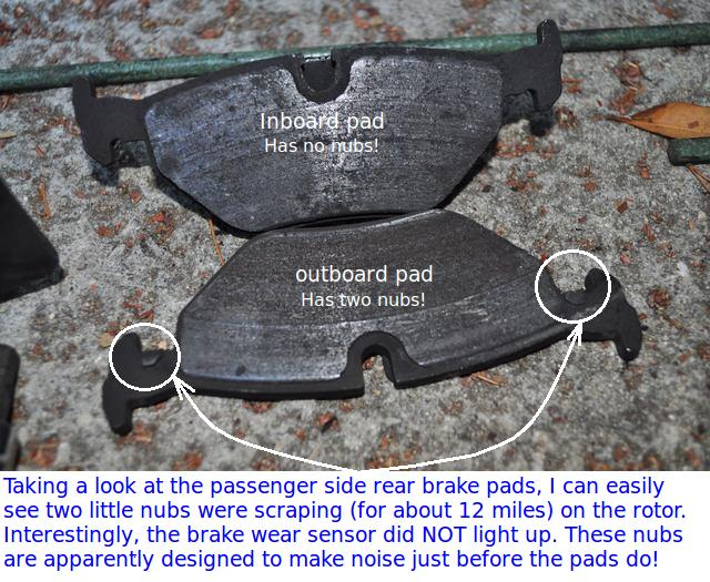Quick Question Concerning Pad Wear Sensors And Warning
