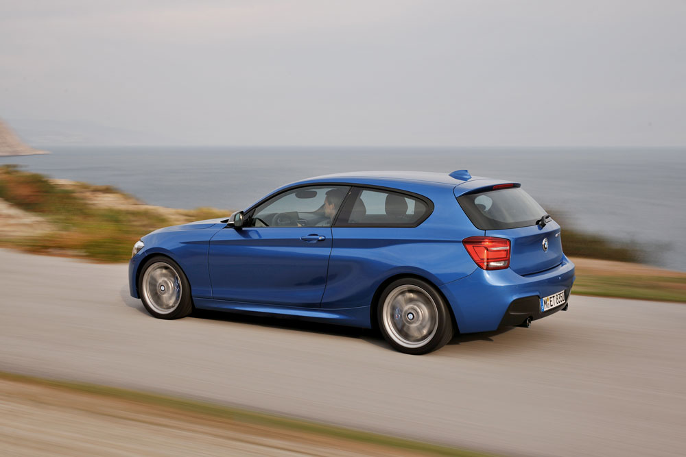 The 3-door BMW 1 Series