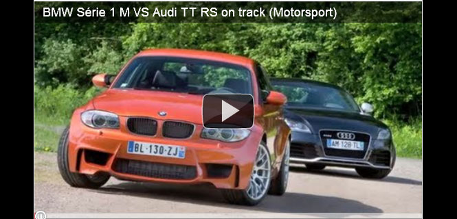 VIDEO: BMW 1M and Audi TT RS - Track day!