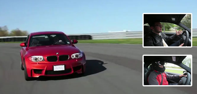 VIDEO: BMW 1M gets a Complete daily driver and track review - Watch for Details