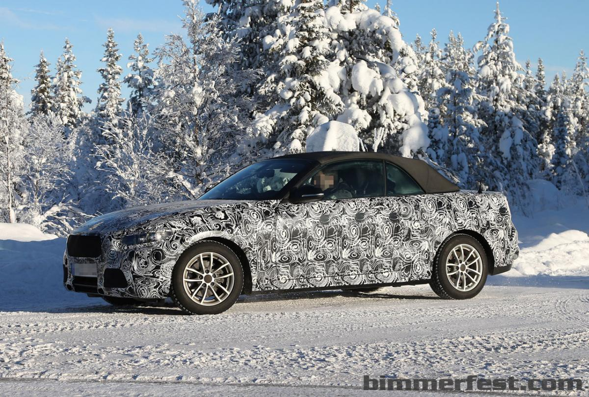 2015 2 Series Convertible Spied