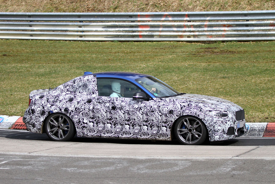 BMW 2 series coupe nurburgring