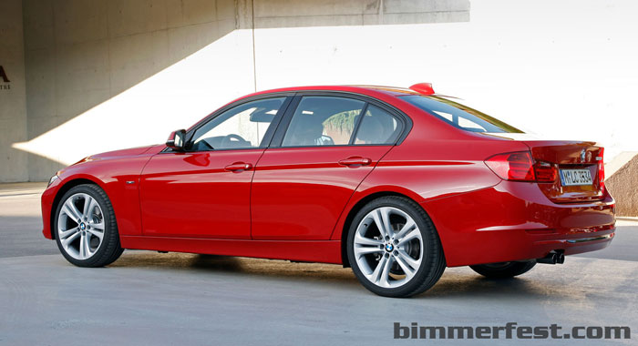 2012 BMW F30 328i & 335i Get Great MPG - Official MPG numbers