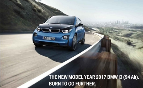 2017 bmw i3 pricing