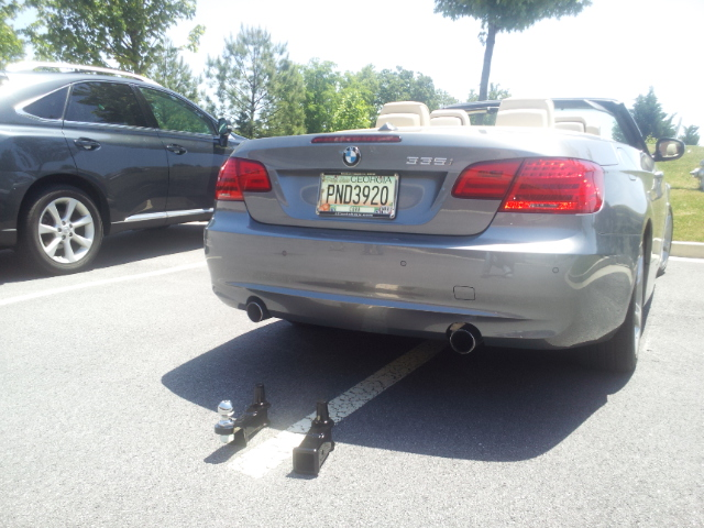 Diy Oem Tow Bar Hitch Install Bimmerfest Bmw Forums 335i