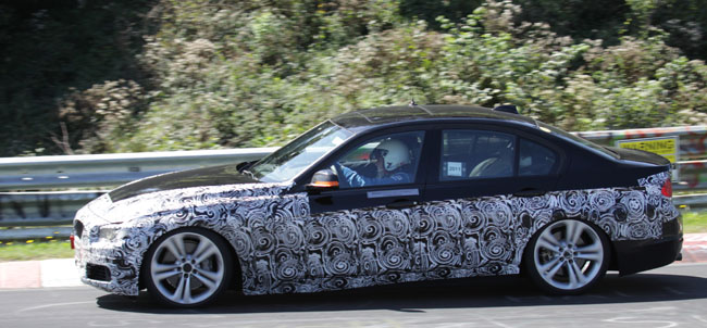 BMW is on the Test Track with a 3 Series ActiveHybrid