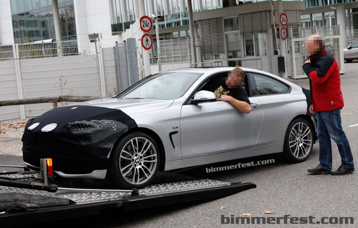 2014 BMW 4 Series Coupe Exposed
