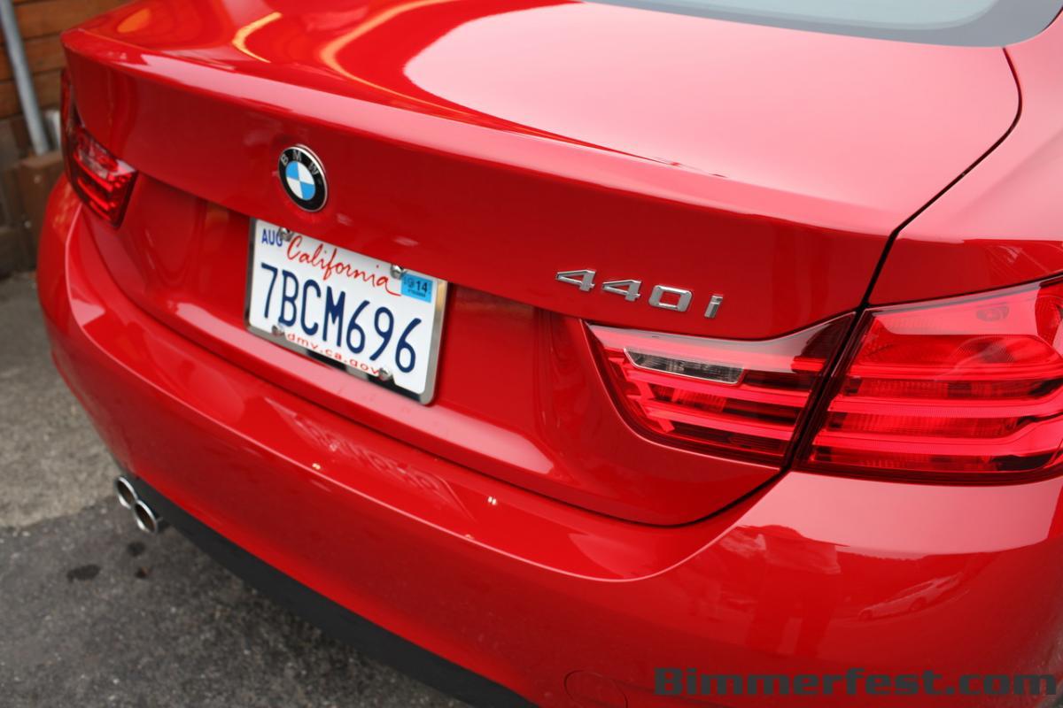 BMW F30 340i and F32 440i