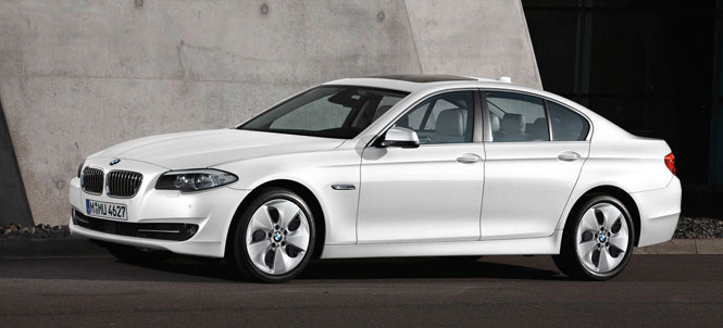 "BMW 520d Wins ""Car of the Future"" Award"