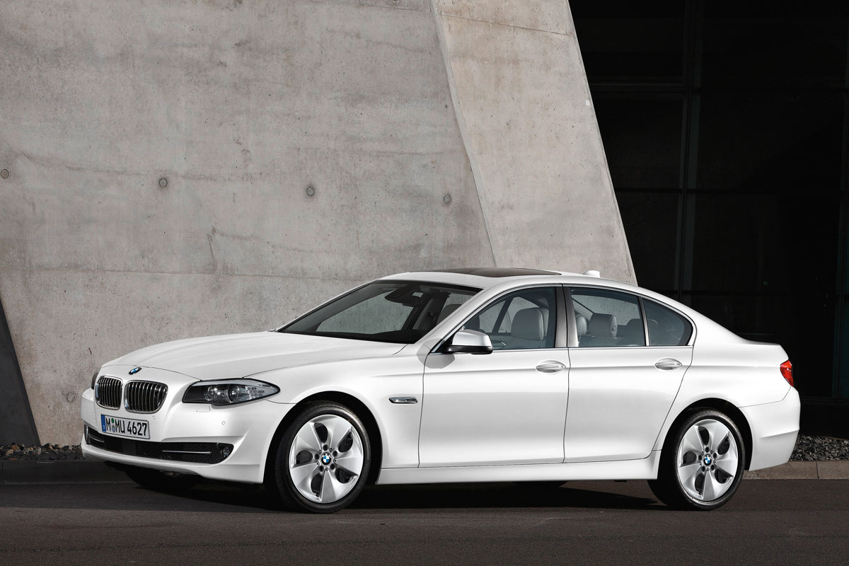 BMW 520d EfficientDynamics Wins Car of the Future Award