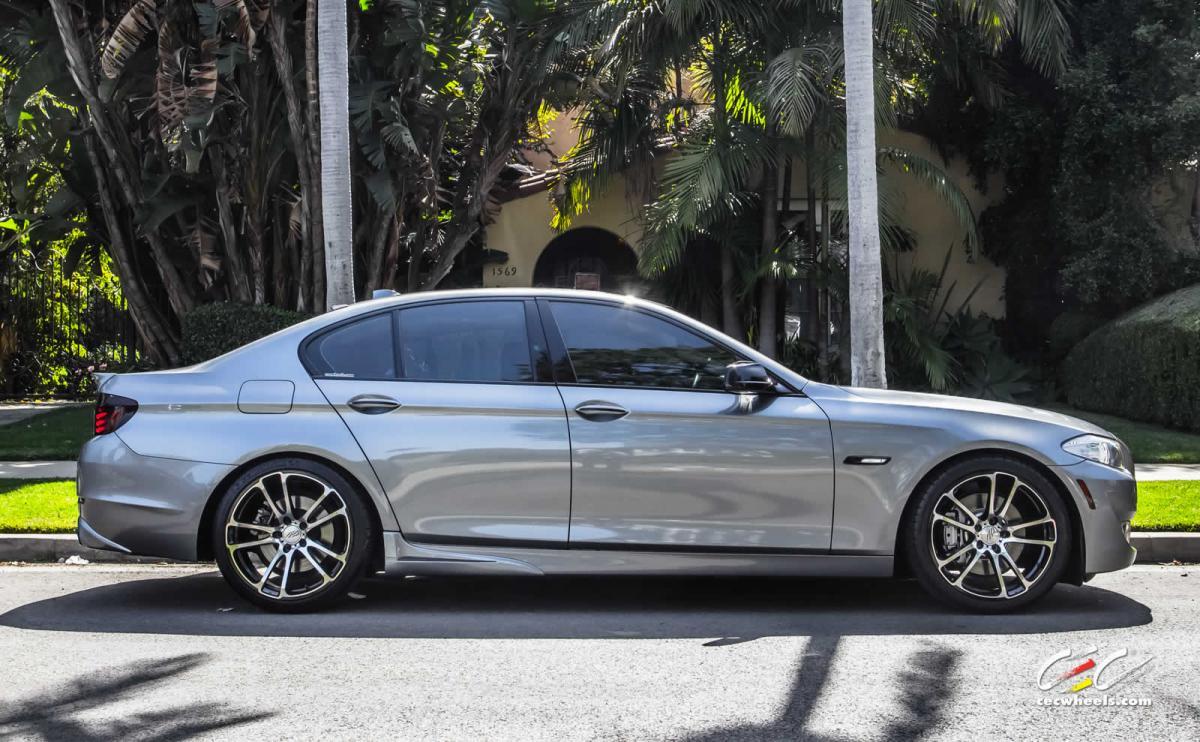 BMW F10 535i on 20s