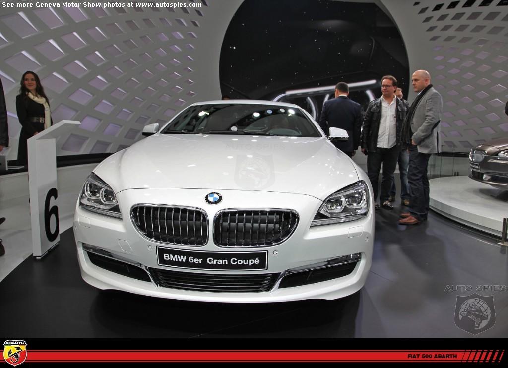 BMW 6 Series Gran Coupe Alpine White