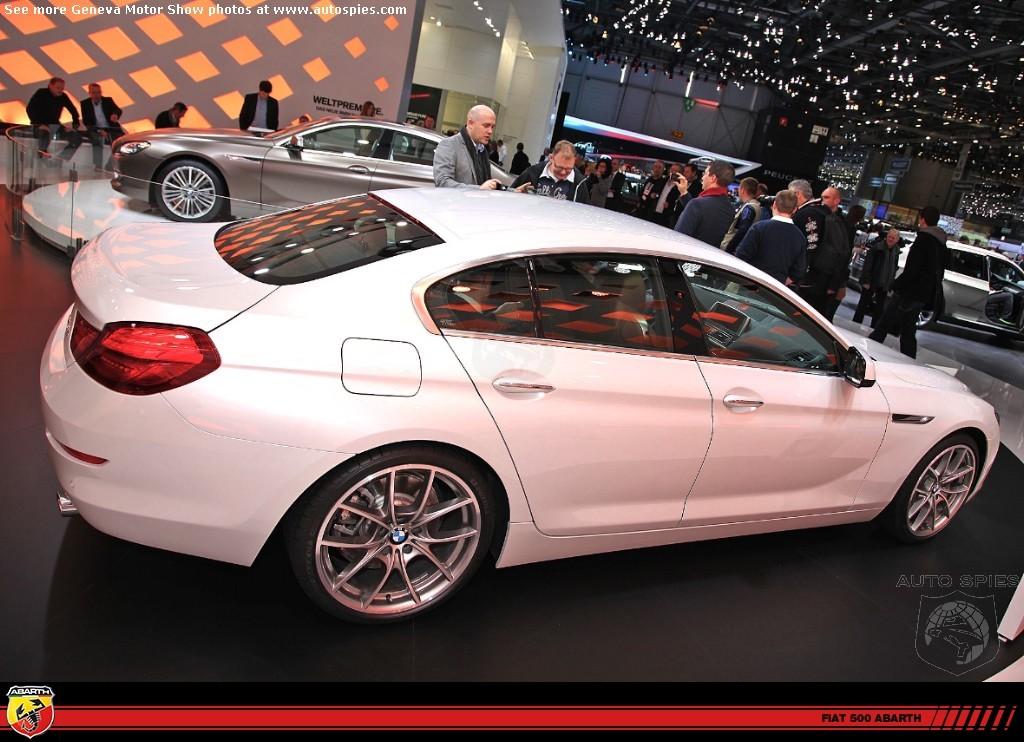 Alpine White BMW 6 Series Gran Coupe