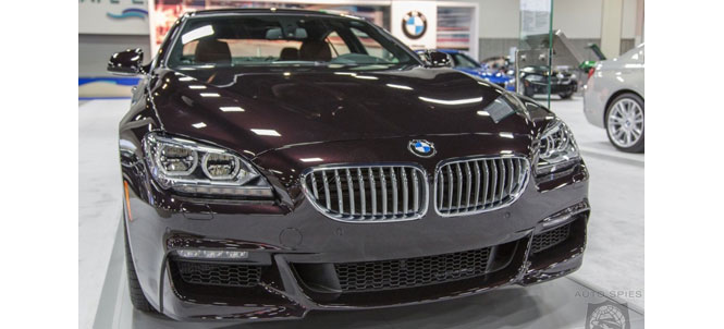 Ruby Black Gran Coupe at the San Diego Auto Show