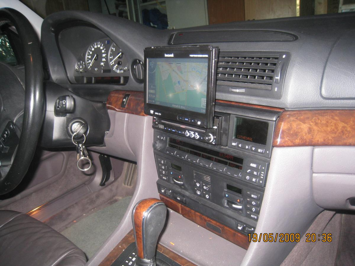 ... Click image for larger version Name: BMW 740i Aftermarket radio  Installation 3.jpg Views ...