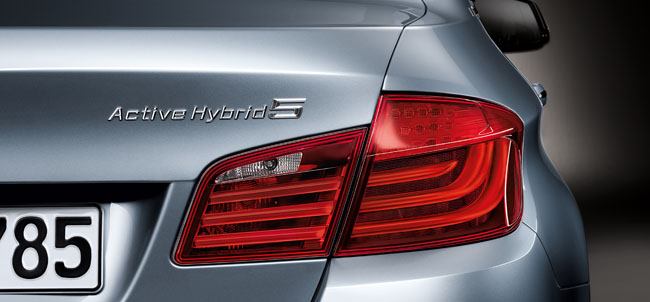 BMW Unveils the ActiveHybrid 5 to the World