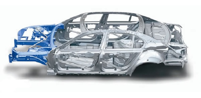 BMW cutting vehicle weight with increased use of aluminum