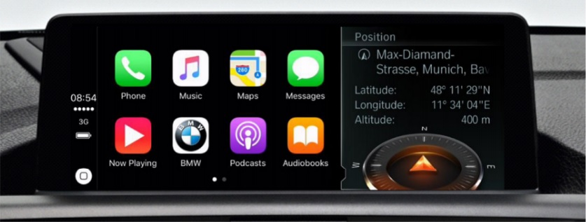 apple carplay available on 2017 bmws bmw news at. Black Bedroom Furniture Sets. Home Design Ideas