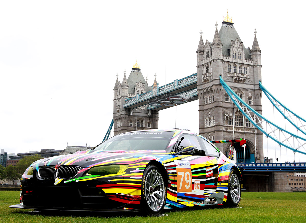 BMW Art Cars head to London Olympics