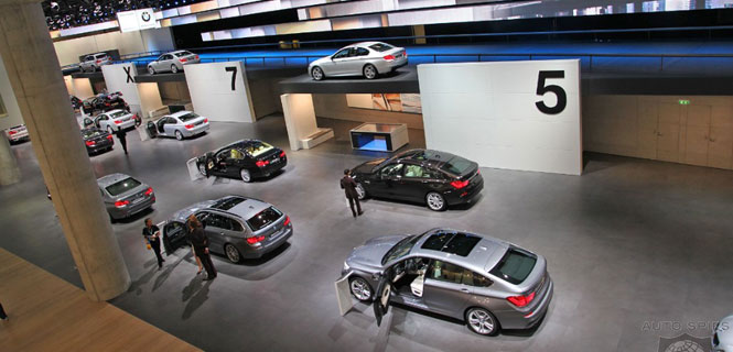 BMW at Frankfurt Motor Show 2011