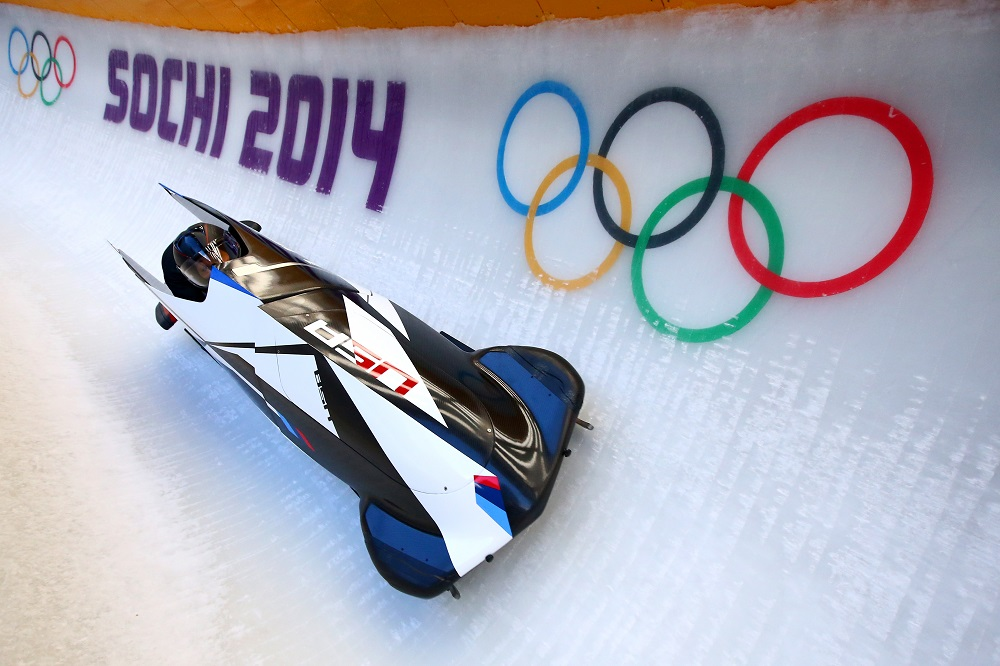 BMW bobsled sochi