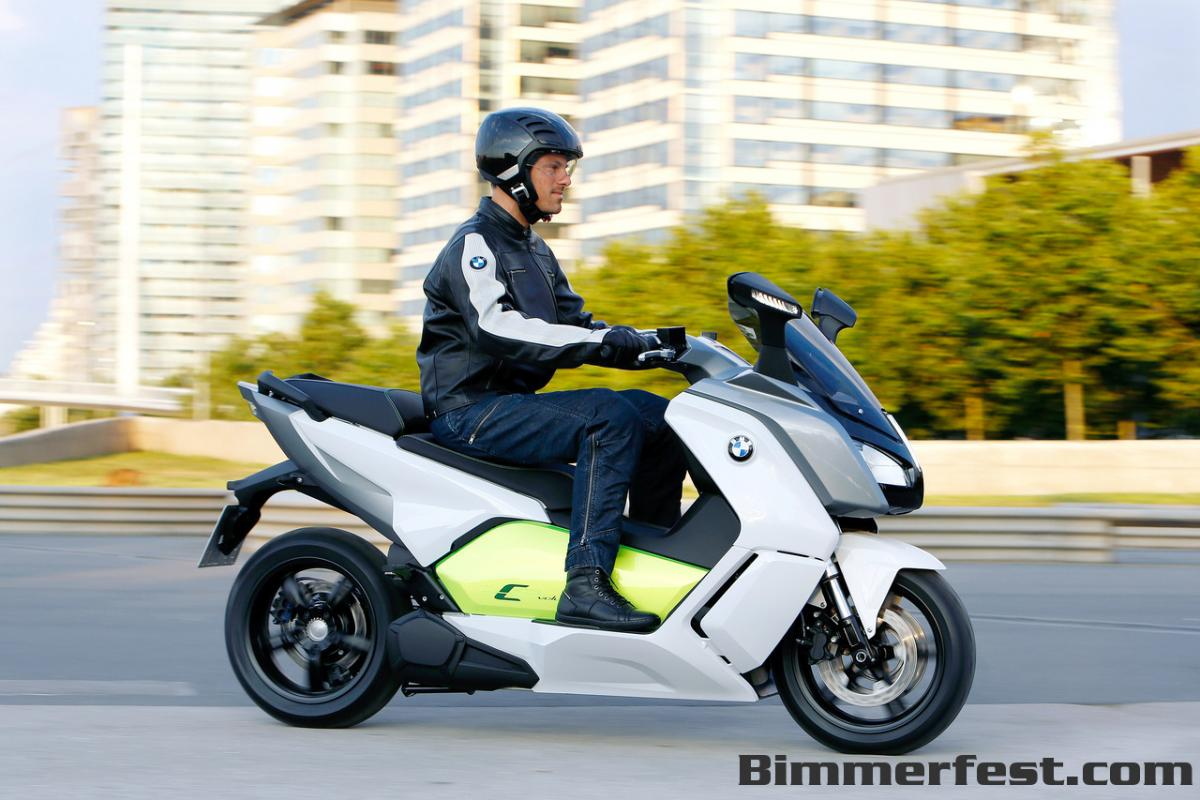 BMW ev motorcycle C evolution