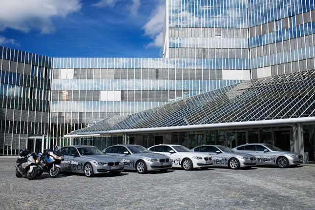 BMW car-to-x communications